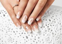 unhas de acrigel decoradas
