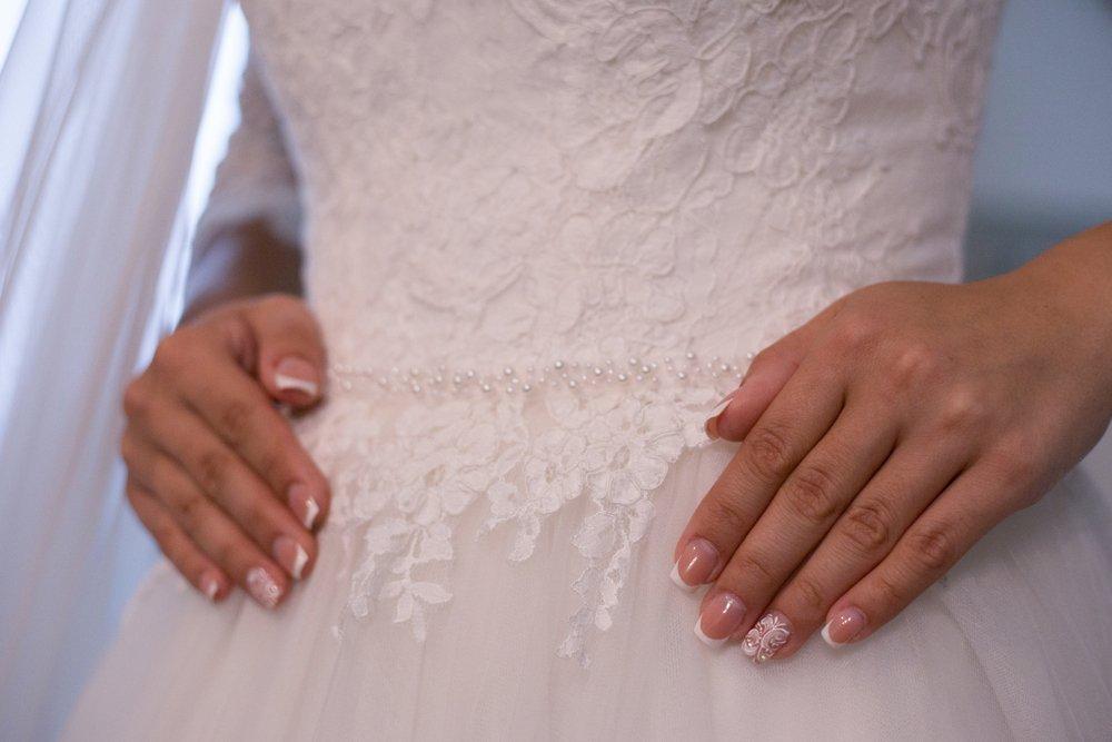 unhas de noiva